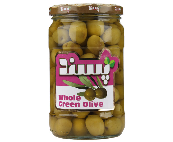 Whole Green olive